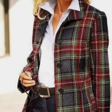 Костюмно-пальтовая ткань в стиле Chanel